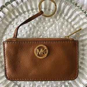 🌸Michael Kors Leather Coin Purse